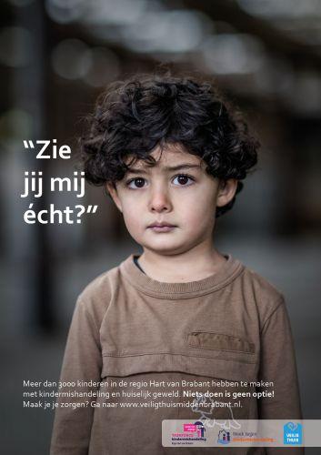 Poster tegen kindermishandeling